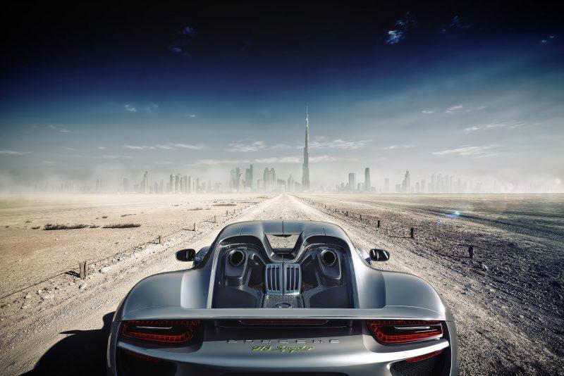 Porsche CGI